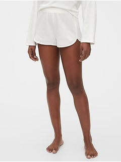 Textured Lounge Shorts in French Terry
