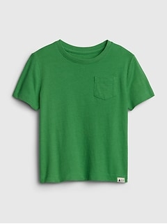 Toddler Pocket Short Sleeve T-Shirt