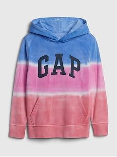 Kids Dip-Dye Hoodie Sweatshirt