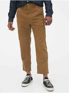 Canvas Carpenter Pants with GapFlex