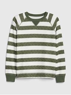 Kids Print Crewneck Sweatshirt