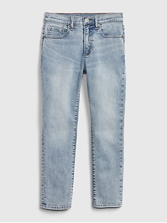 Kids Athletic Taper Jeans with Stretch