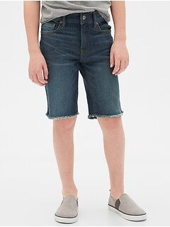 Kids Denim Everyday Shorts with Stretch