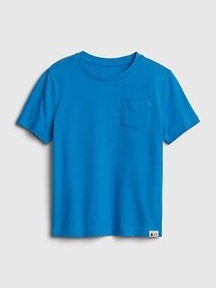 T-shirt à manches courtes avec poche (tout-petit)