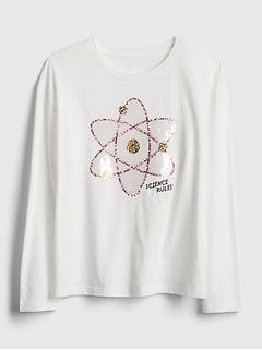 Kids Flippy Sequin Pocket T-Shirt