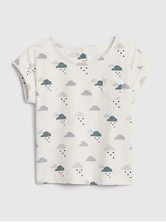 Baby Organic Cotton Cloud T-Shirt