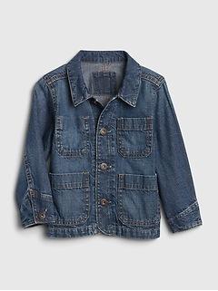 Toddler Denim Chore Jacket