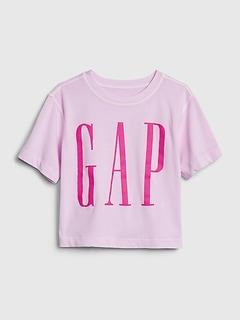 Kids Gap Logo Boxy T-Shirt