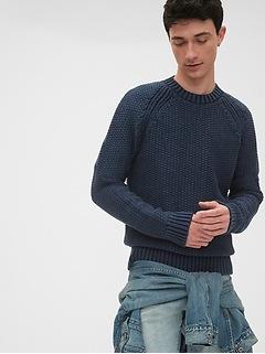1969 Premium Indigo Raglan Sweatshirt