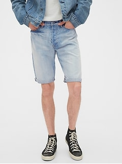 1969 Premium Distressed Selvedge Denim Shorts