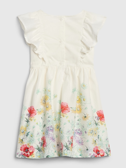Toddler Floral Ruffle Dress