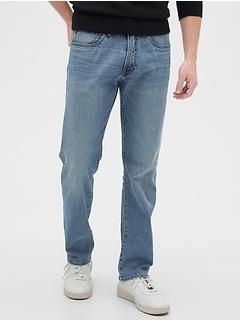 Wearlight Straight Jeans with GapFlex