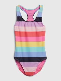 Kids Stripe Swim One-Piece