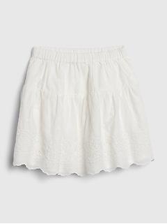 Toddler Eyelet Skirt