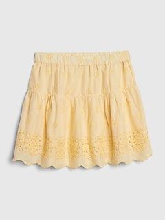 Baby Eyelet Skirt