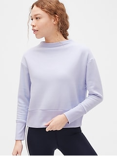 GapFit Funnel-Neck Sweatshirt