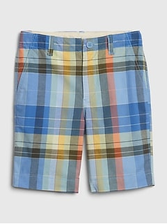 Kids Lived-in Khaki with Stretch Shorts