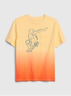 T-shirt à manches courtes à poche (enfant)