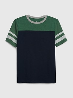 Kids Varsity Short Sleeve T-Shirt