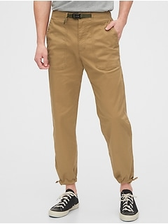 Belted Joggers with GapFlex