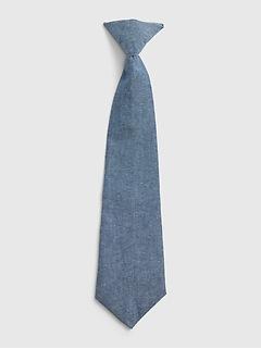 Kids Chambray Tie