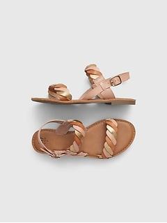 Kids Braided Sandals