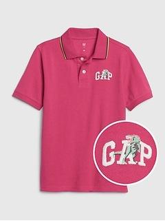 Chemise polo à logo Gap pour enfants