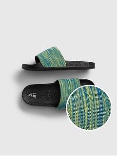 Kids Knit Slides