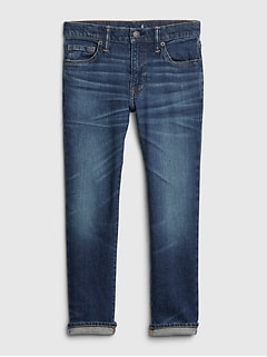 Kids BetterMade Straight Jeans with Stretch
