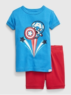 babyGap | Marvel Captain America PJ Set