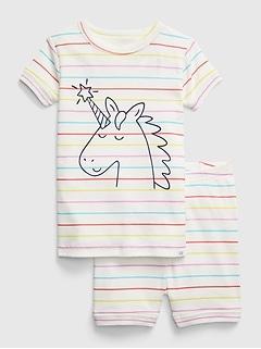 Pyjama babyGap à motif de licorne