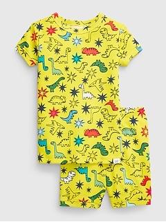 Pyjama à motif de dinosaure bleu babyGap