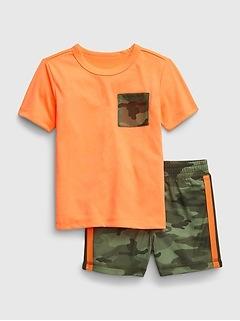 Pyjama à imprimé camouflage babyGap