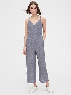 Tie-Back Cami Jumpsuit