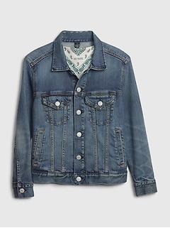 Kids BetterMade Icon Denim Jacket