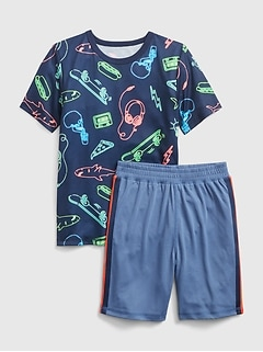 Kids Graphic PJ Set