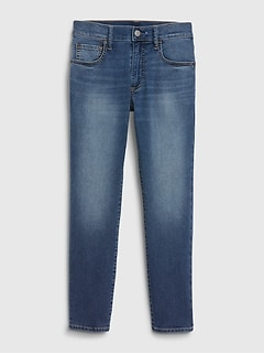 Kids Lightweight Slim Taper Jeans with Stretch.