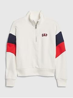 Kids Gap Logo Pull-Over Sweatshirt