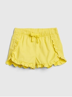 Toddler Shorts with Ruffles