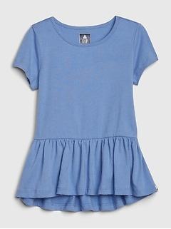 Toddler Peplum Tunic T-Shirt