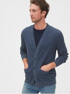 Linen-Cotton Cardigan