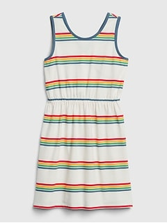 Kids Tank Wrap Dress