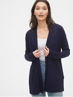 Wrap-Front Cardigan