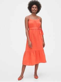 Gauze Cami Midi Dress