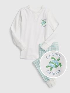Kids Organic Cotton PJ Set
