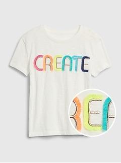 Kids Interactive Short Sleeve T-Shirt