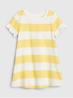 Toddler Ruffle Pocket Dress