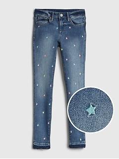 Kids Star Super Skinny Jeans with Stretch