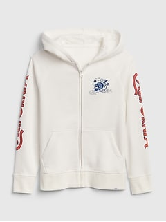 Kids Zipped Hoodie Sweatshirt
