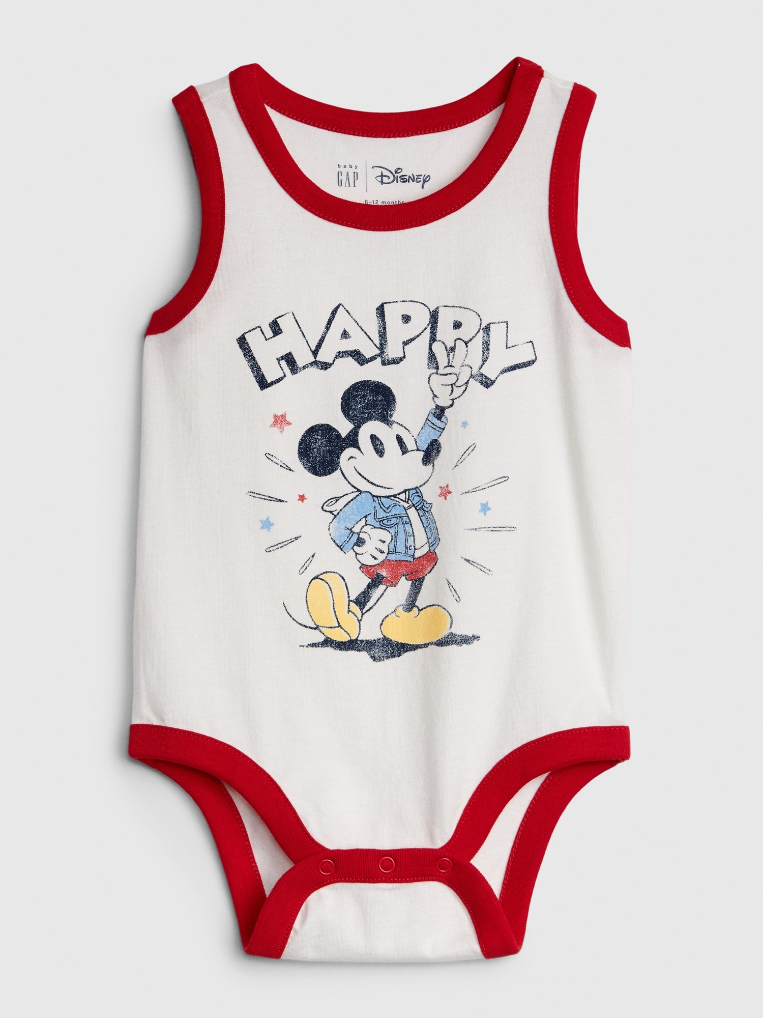 Disney Baby Boys Mickey Mouse Three-Pack Bodysuits Size 12M 18M 24M
